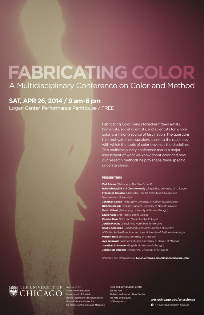 Fabricating Color conference poster v 1